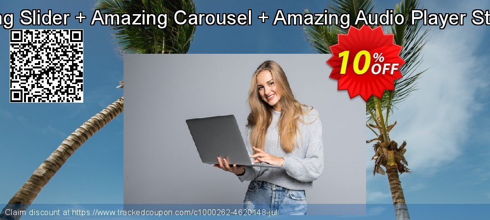 Amazing Slider + Amazing Carousel + Amazing Audio Player Standard coupon on Exclusive Student discount discounts