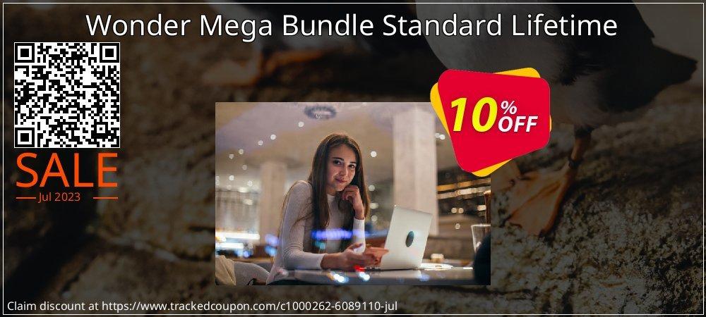 Get 10% OFF Wonder Mega Bundle Standard Lifetime offering sales