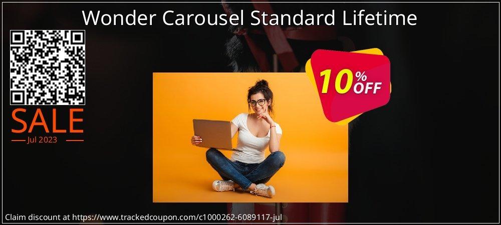 Get 10% OFF Wonder Carousel Standard Lifetime offering sales
