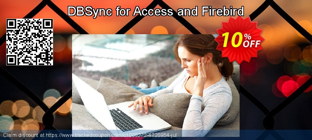 DBSync for Access and Firebird coupon on Back to School offer offering sales