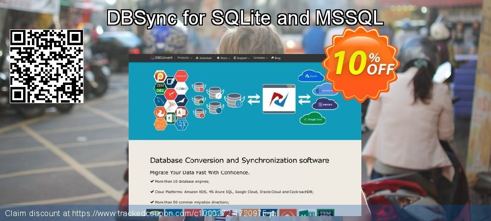Get 10% OFF DBSync for SQLite and MSSQL offer