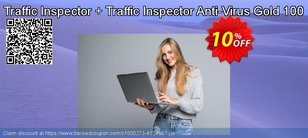 Traffic Inspector + Traffic Inspector Anti-Virus Gold 100 coupon on Back to School promotions offering sales