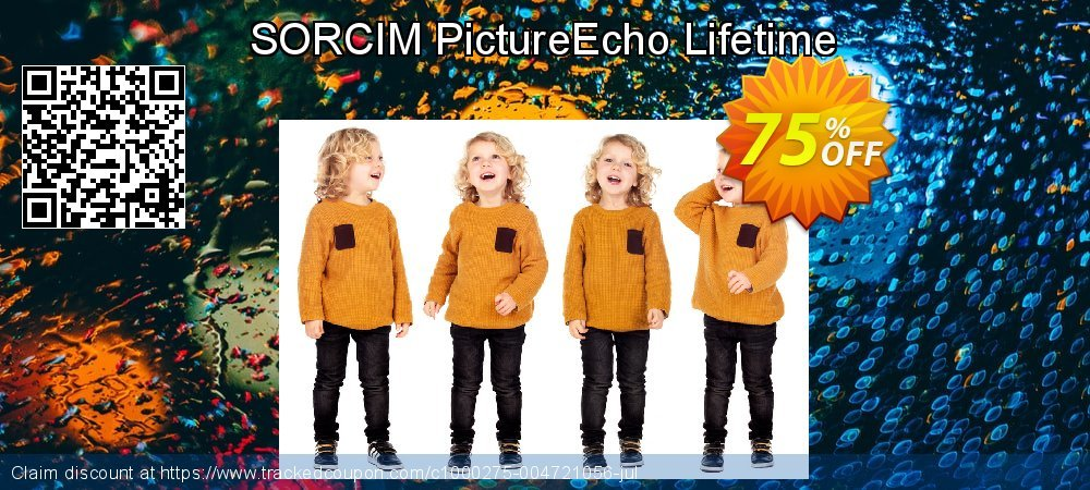 SORCIM PictureEcho Lifetime coupon on  Lover's Day offering discount