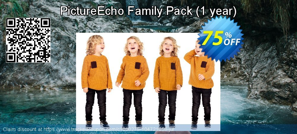 PictureEcho Family Pack - 1 year  coupon on  Lover's Day offering sales