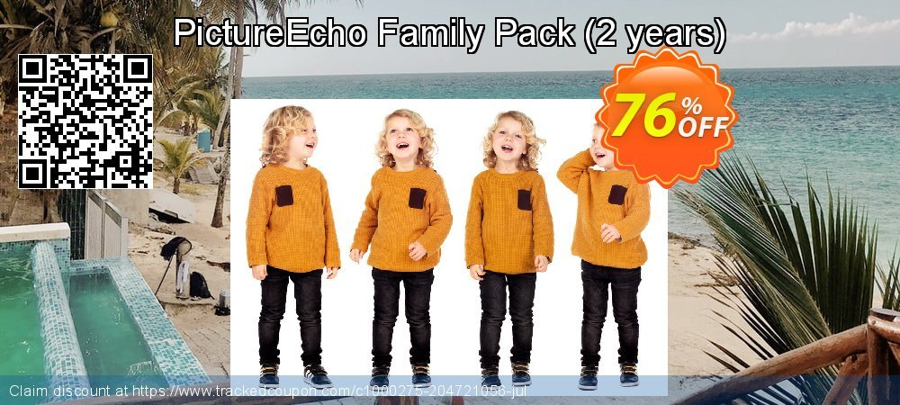 PictureEcho Family Pack - 2 years  coupon on  Lover's Day super sale