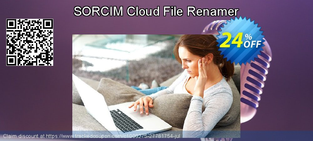 SORCIM Cloud File Renamer coupon on IT Professionals Day sales