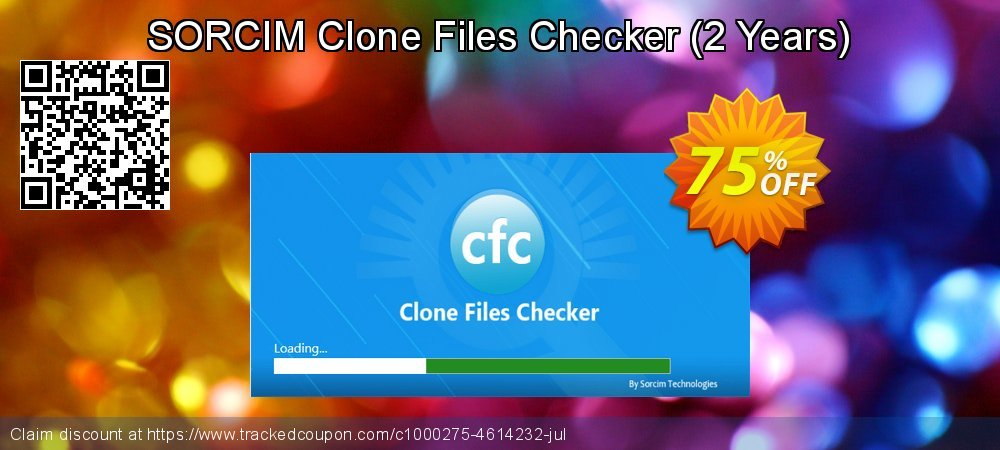 SORCIM Clone Files Checker - 2 Years  coupon on Back to School season promotions