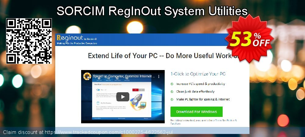 RegInOut System Utilities coupon on Happy New Year offering sales