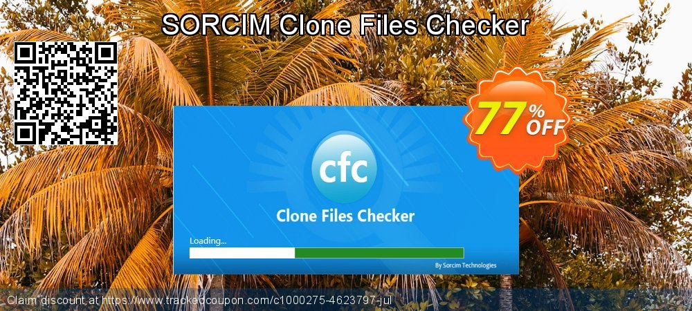 Clone Files Checker coupon on Valentines Day offering sales