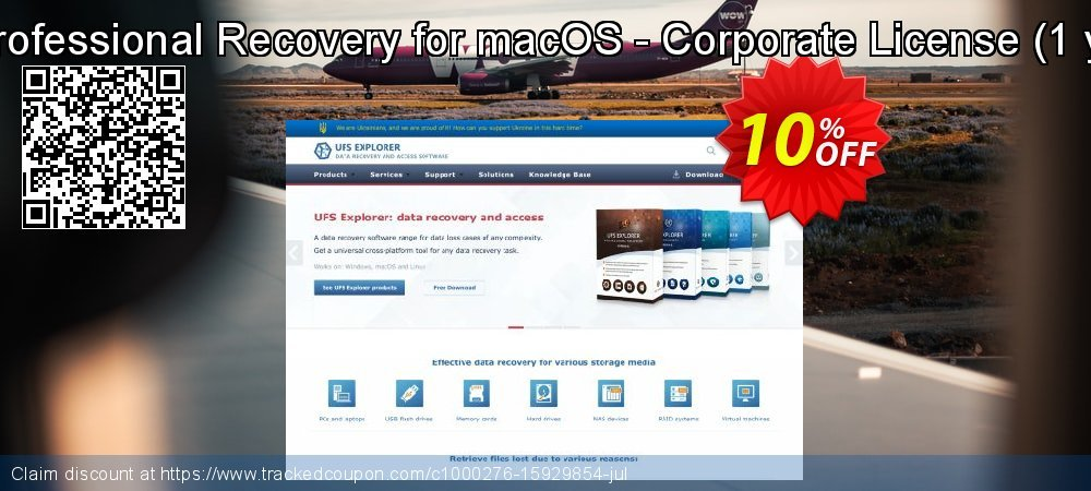 UFS Explorer Professional Recovery for macOS - Corporate License - 1 year of updates  coupon on Mom Day promotions