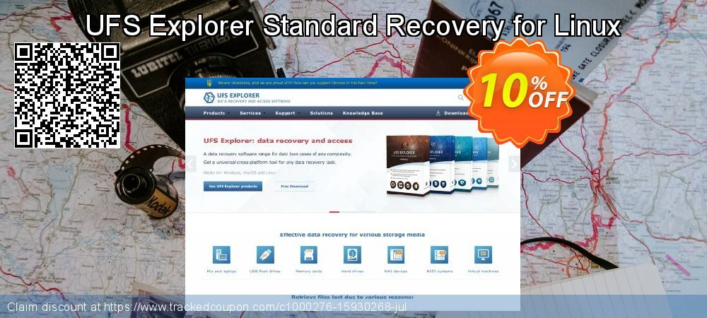 Get 10% OFF UFS Explorer Standard Recovery for Linux - Personal License (1 year of updates) offering deals