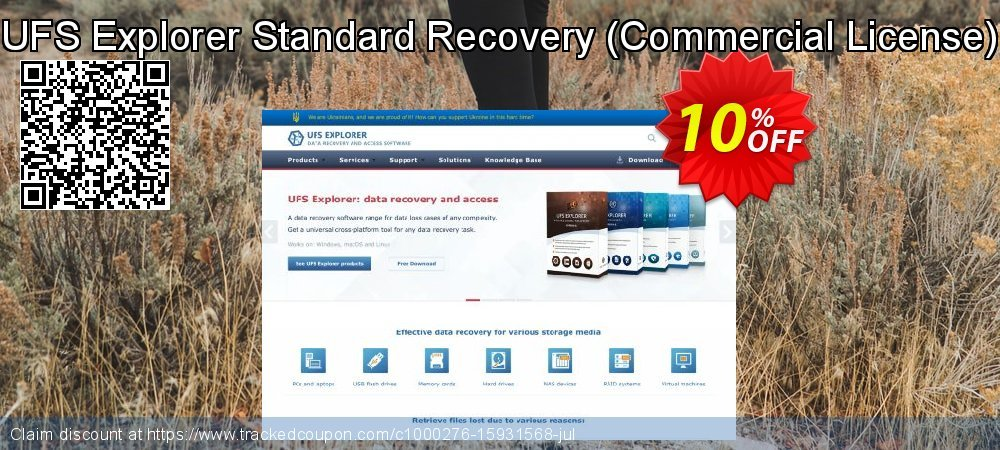 UFS Explorer Standard Recovery - Commercial License  coupon on Thanksgiving sales