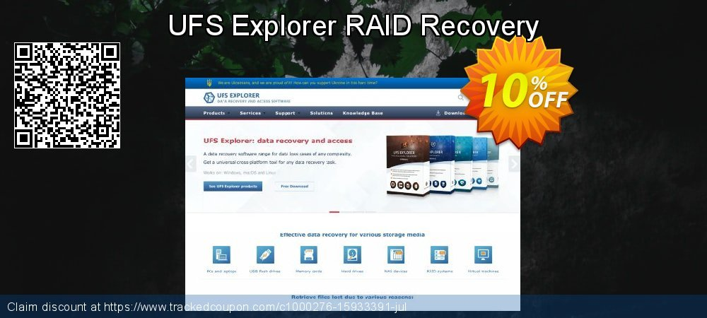 Claim 10% OFF UFS Explorer RAID Recovery Coupon discount July, 2020