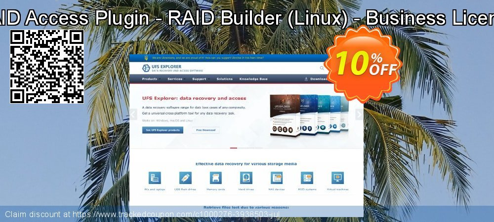 RAID Access Plugin - RAID Builder - Linux - Business License coupon on US Independence Day discounts