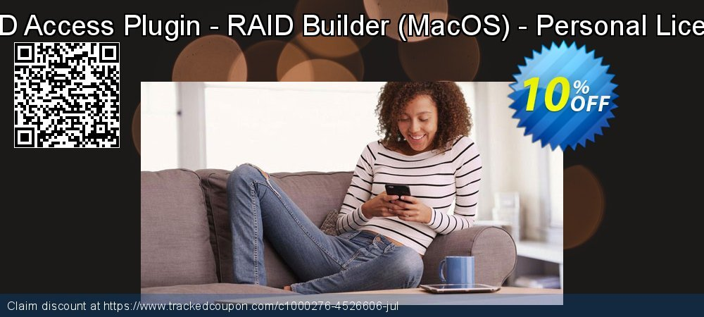 RAID Access Plugin - RAID Builder - MacOS - Personal License coupon on Halloween promotions