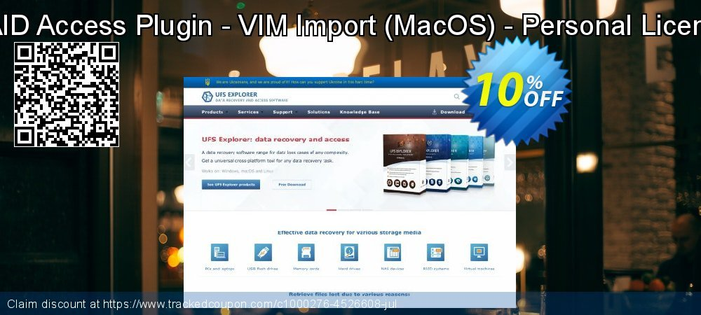 RAID Access Plugin - VIM Import - MacOS - Personal License coupon on Halloween deals