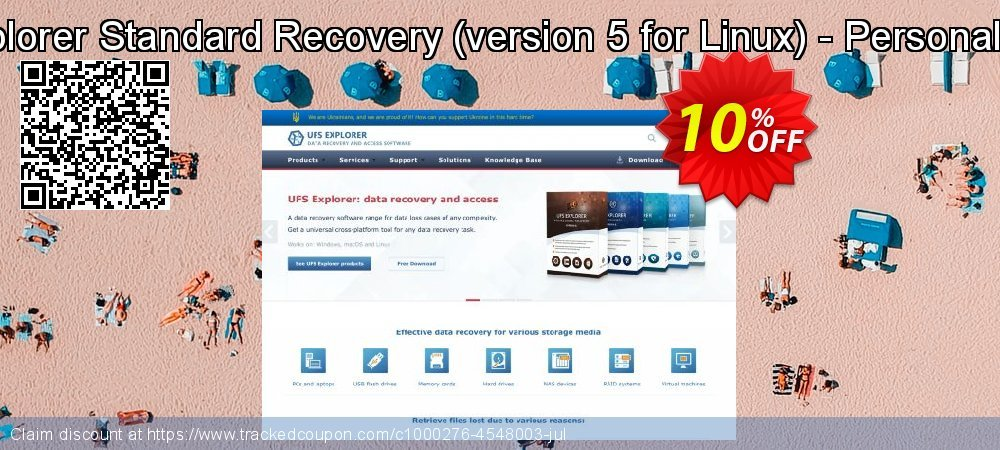 UFS Explorer Standard Recovery - version 5 for Linux - Personal License coupon on Halloween discount