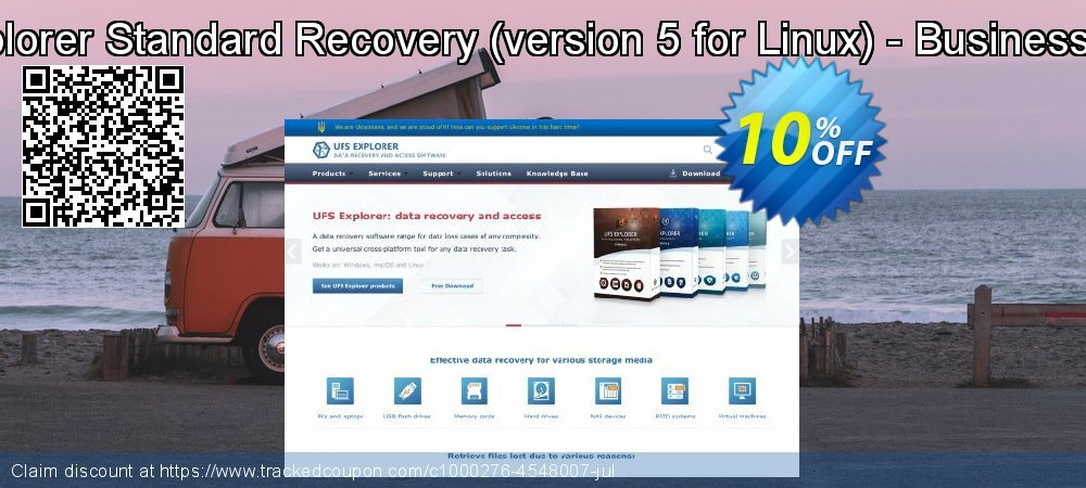 UFS Explorer Standard Recovery - version 5 for Linux - Business License coupon on Halloween discounts