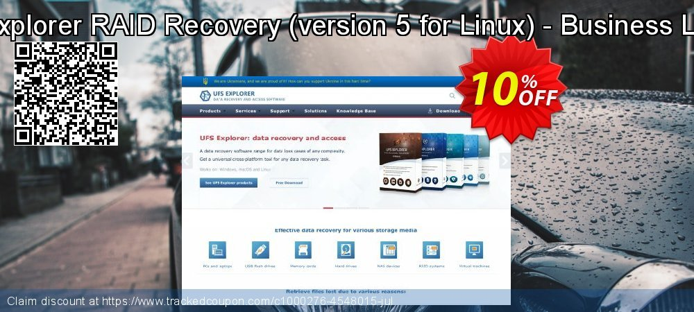 UFS Explorer RAID Recovery - version 5 for Linux - Business License coupon on Halloween super sale