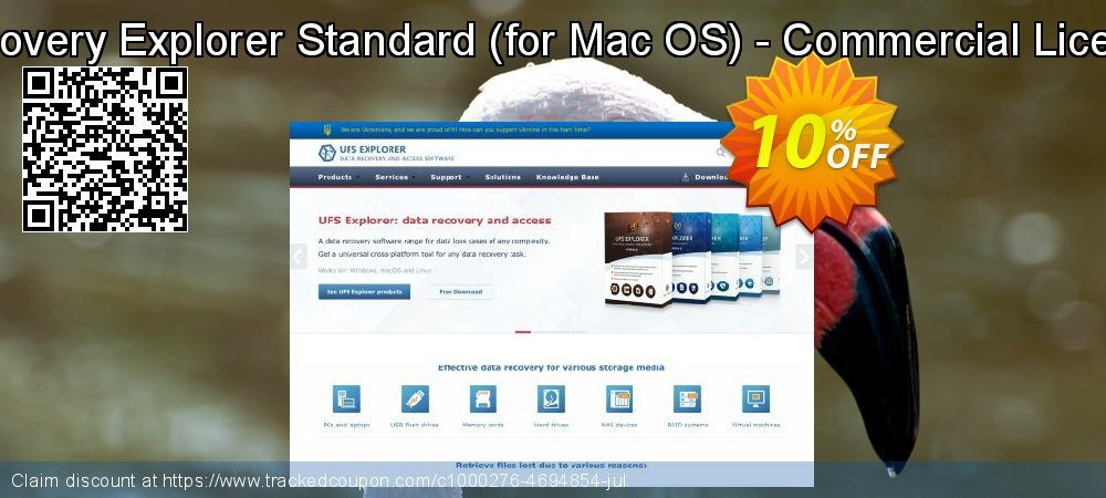 Recovery Explorer Standard - for Mac OS - Commercial License coupon on Halloween deals