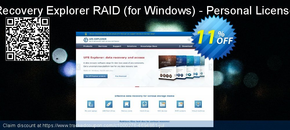 Recovery Explorer RAID - for Windows - Personal License coupon on Exclusive Student discount discounts