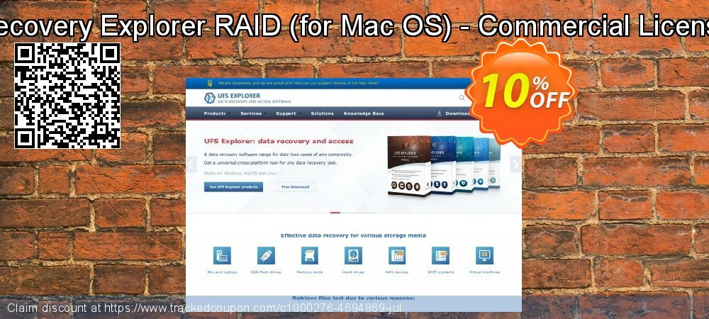 Recovery Explorer RAID - for Mac OS - Commercial License coupon on Halloween discounts