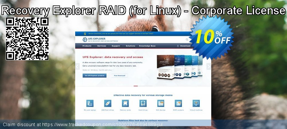 Recovery Explorer RAID - for Linux - Corporate License coupon on Halloween sales