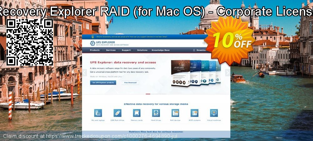 Recovery Explorer RAID - for Mac OS - Corporate License coupon on Halloween deals