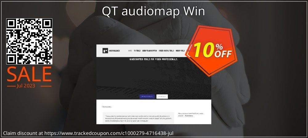Get 10% OFF QT audiomap Win offering sales
