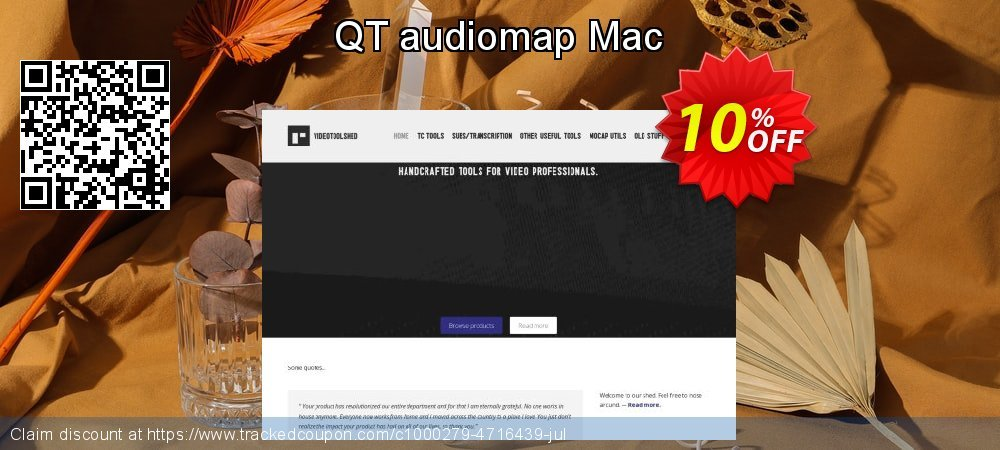 QT audiomap Mac coupon on Mothers Day offer