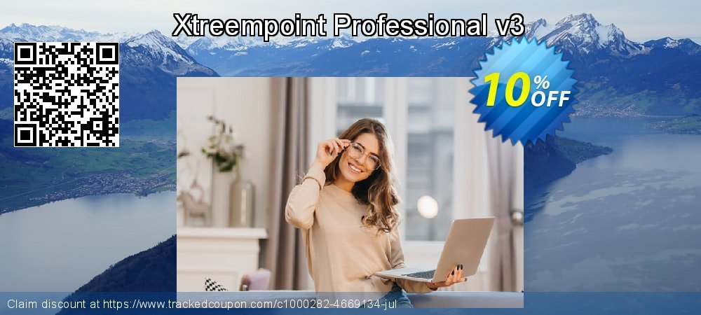 Get 10% OFF Xtreempoint Professional v3 offering sales