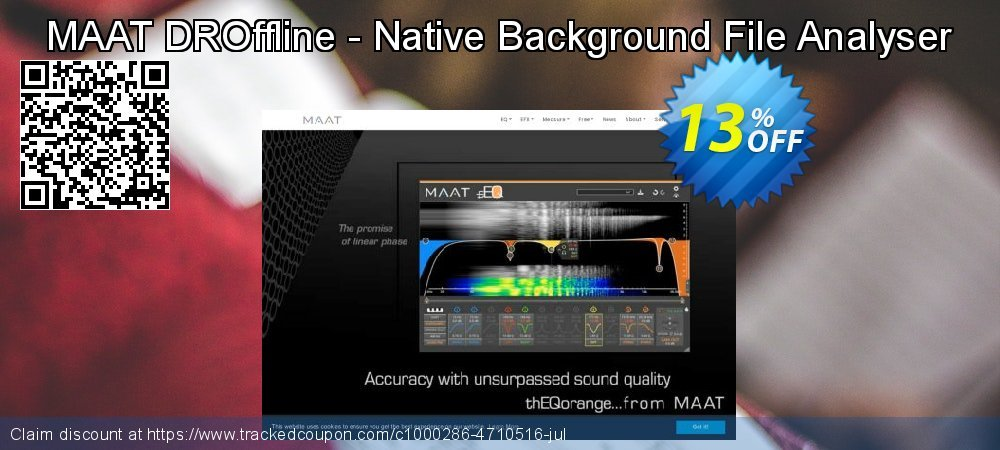 Get 10% OFF MAAT DROffline - Native Background File Analyser offering sales