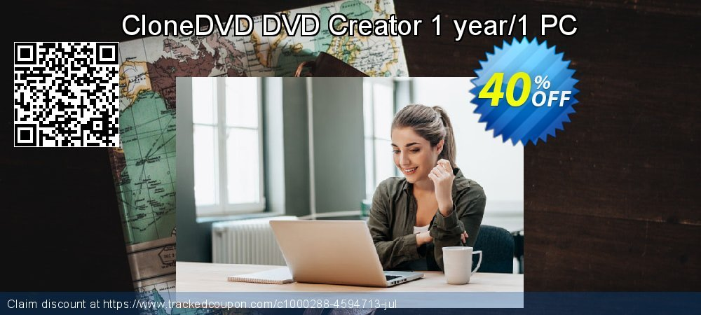 Get 30% OFF CloneDVD DVD Creator 1 year/1 PC promo