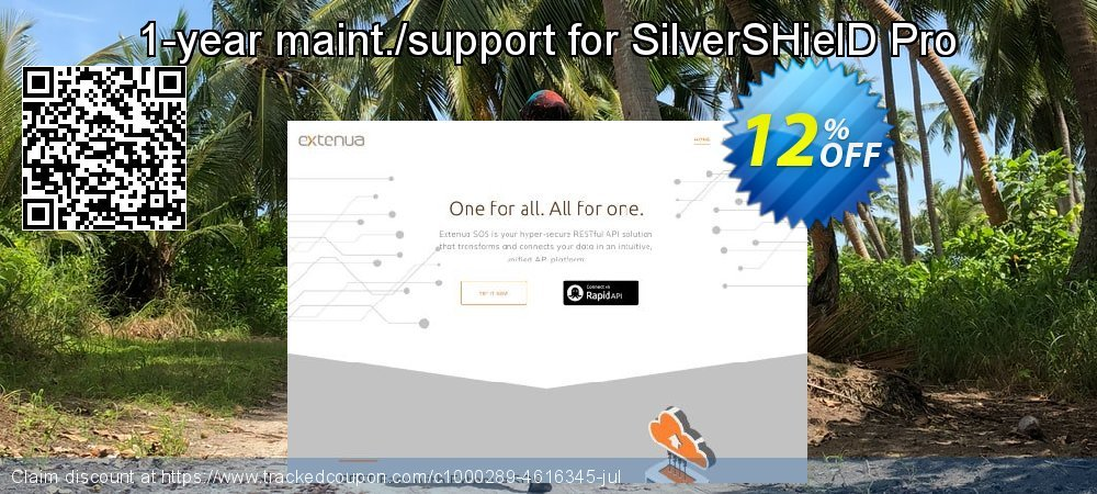 1-year maint./support for SilverSHielD Pro coupon on April Fool's Day promotions