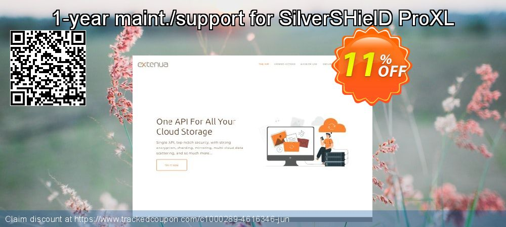 Get 10% OFF 1-year maint./support for SilverSHielD ProXL offering sales