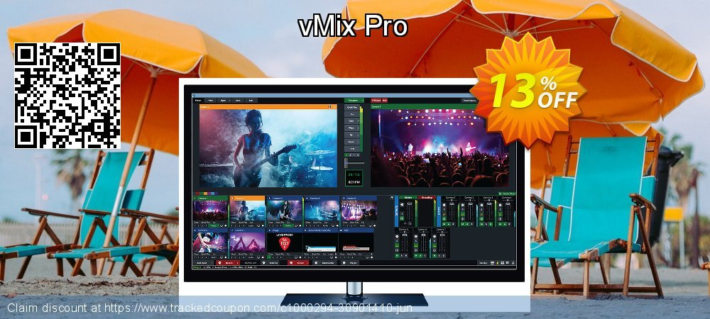 vMix Pro coupon on Exclusive Teacher discount offering sales