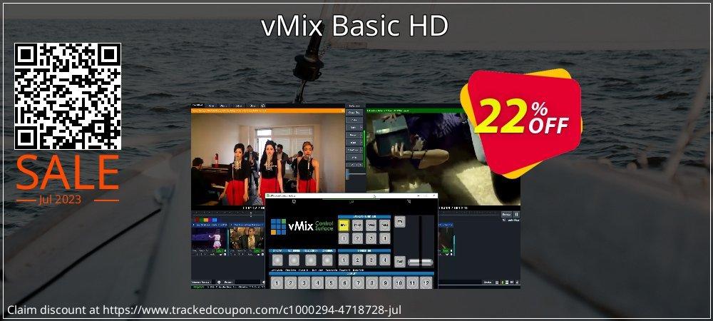 vMix Basic HD coupon on Halloween discounts