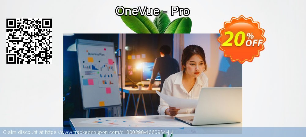 OneVue - Pro coupon on Halloween sales