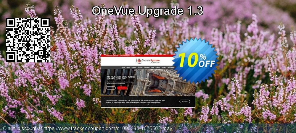 OneVue Upgrade 1.3 coupon on Halloween discount