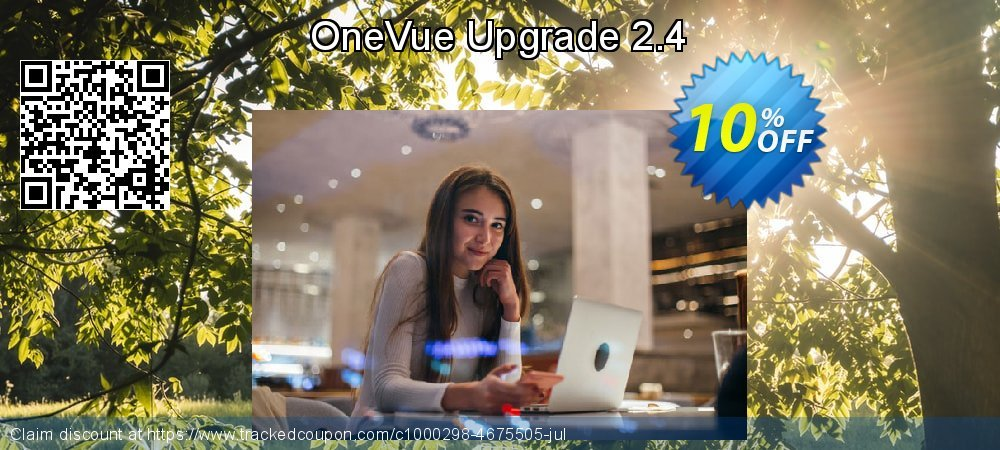 OneVue Upgrade 2.4 coupon on New Year's Day super sale