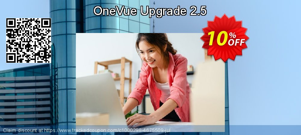 OneVue Upgrade 2.5 coupon on New Year's Day deals