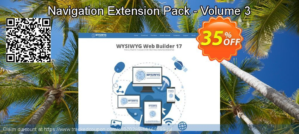 Get 25% OFF Navigation Extension Pack - Volume 3 promo