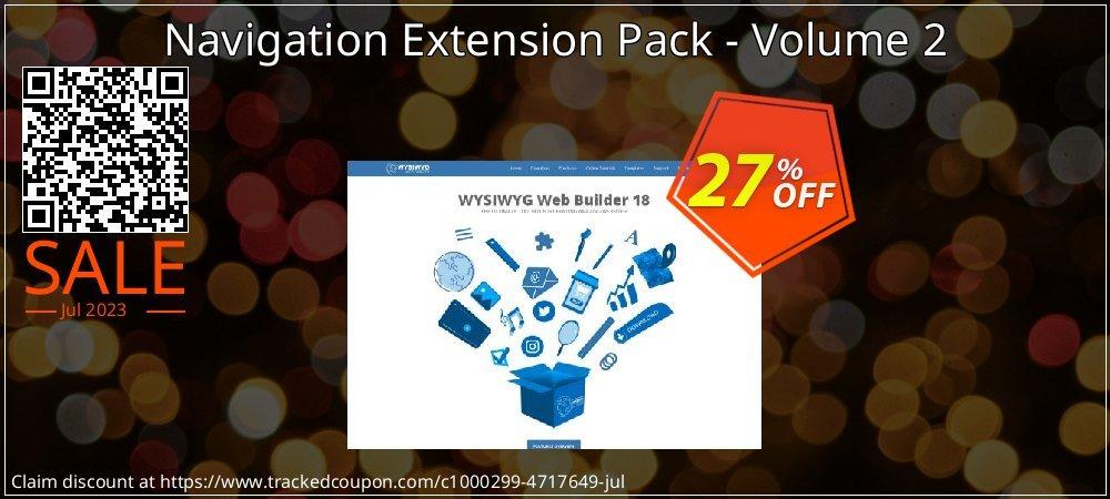 [10% OFF] Navigation Extension Pack - Volume 2 Coupon on Teacher deals  discount, September 2019