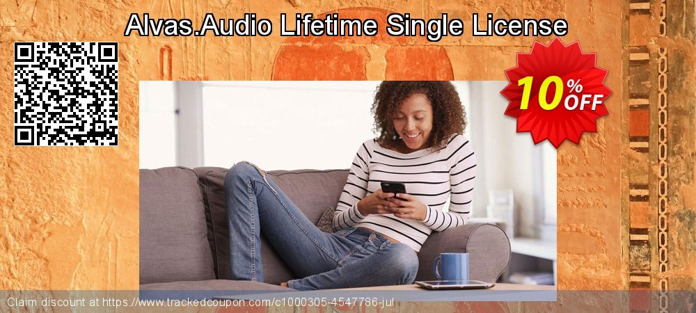 Alvas.Audio Lifetime Single License coupon on Happy New Year offering discount