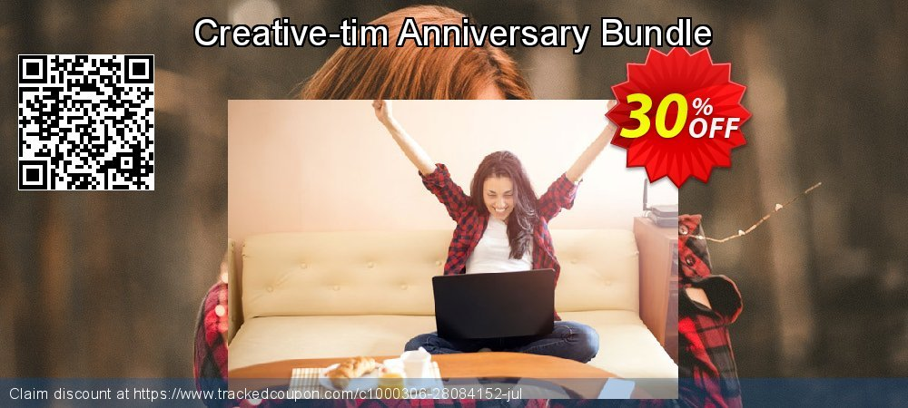 Creative-tim Anniversary Bundle coupon on College Student deals offer