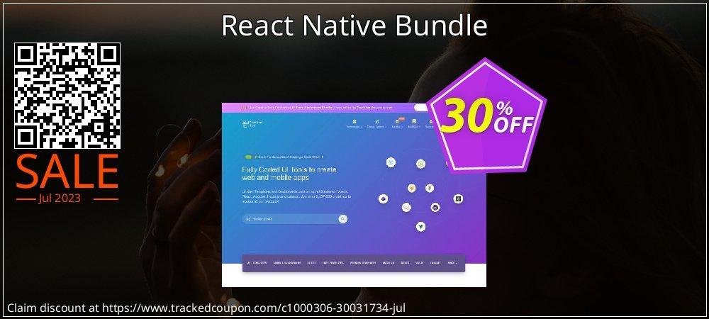 React Native Bundle coupon on Halloween discount