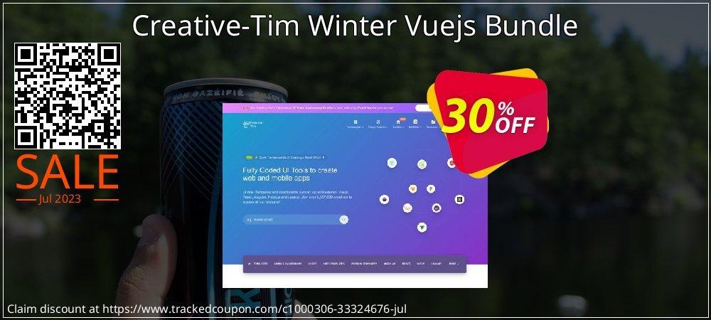 Get 30% OFF Creative-Tim Winter Vuejs Bundle offering sales