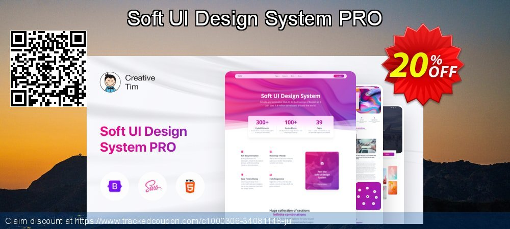 Soft UI Design System PRO coupon on Int'l. Women's Day offering discount