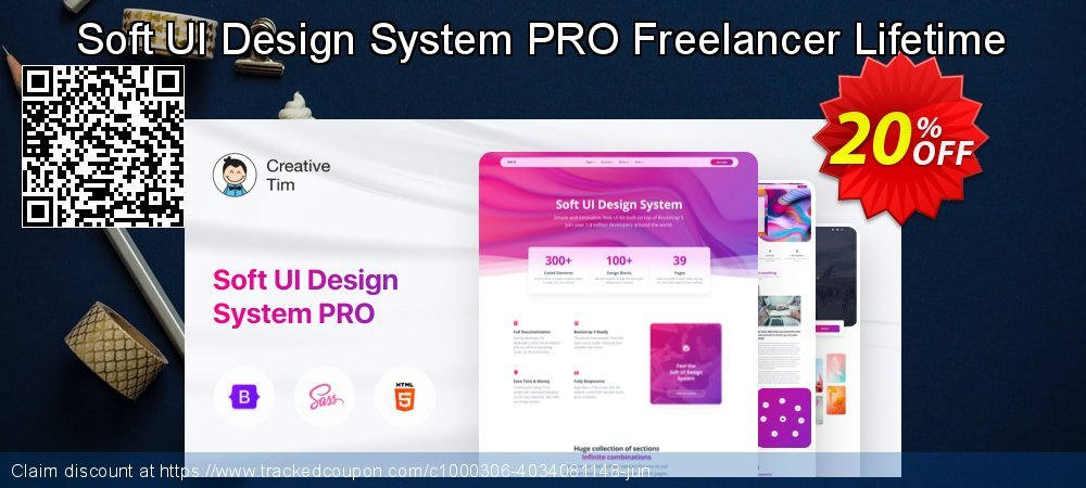 Soft UI Design System PRO Freelancer Lifetime coupon on Read Across America Day promotions