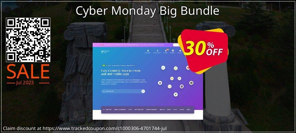 Get 30% OFF Cyber Monday Big Bundle offering sales